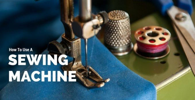 how to use a singer sewing machine