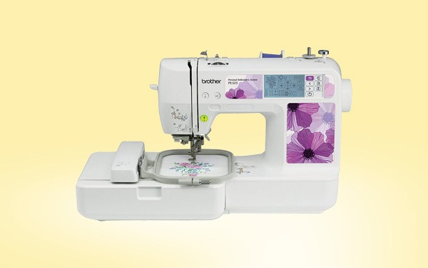 Brother PE40 Embroidery Machine Review Sewing From Home Custom Brother Hc1850 Sewing And Quilting And Embroidery Machine