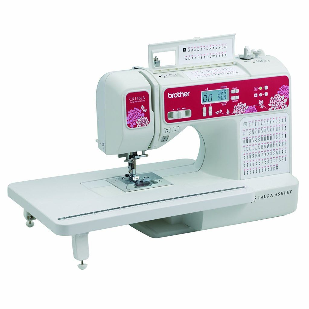 Brother Sewing Laura Ashley CX155LA Limited Edition Sewing and Quilting Machine
