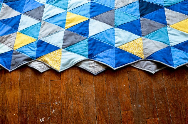 how to sew miltered corners on a quilt