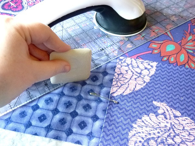 how to sew miltered corners