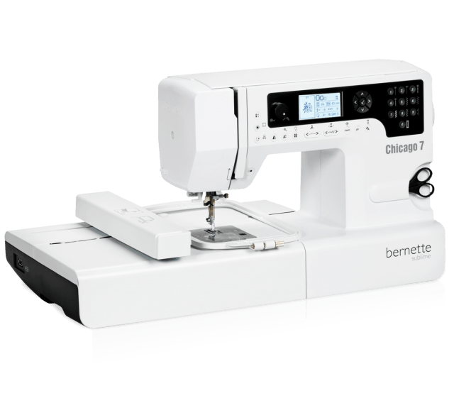 bernina bernette chicago 7 computerized sewing and embroidery machine
