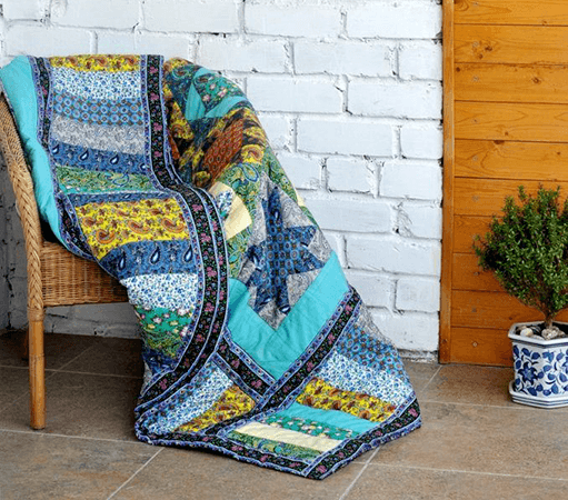How to Sew Binding on a Quilt