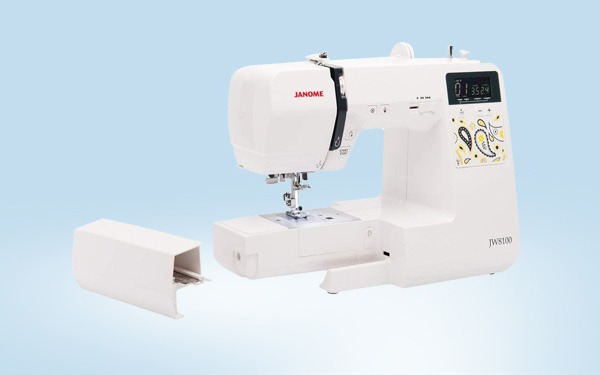 Janome JW8100 Fully-Featured Sewing Machine Review | Sewing From Home