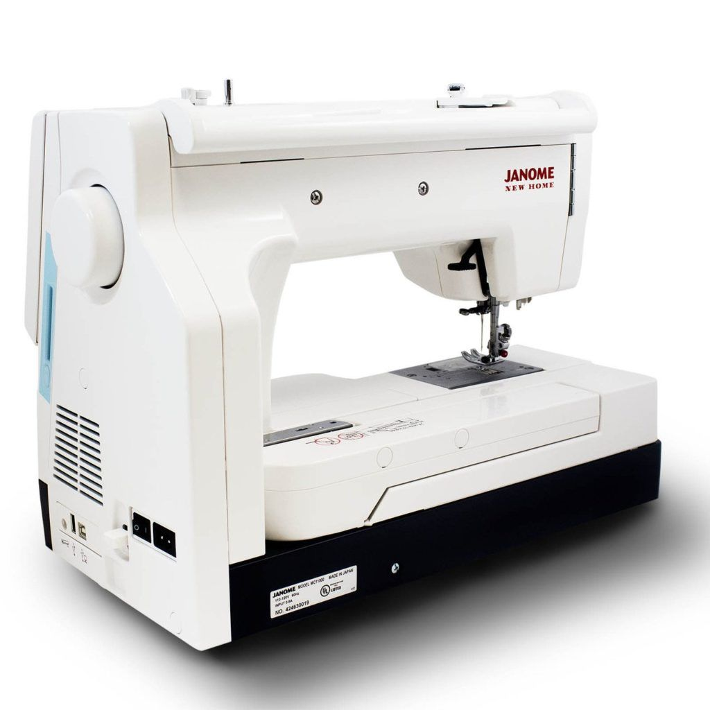 janome memory craft 11000se review