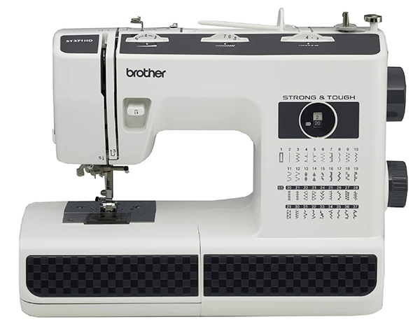 Brother ST371HD for leather