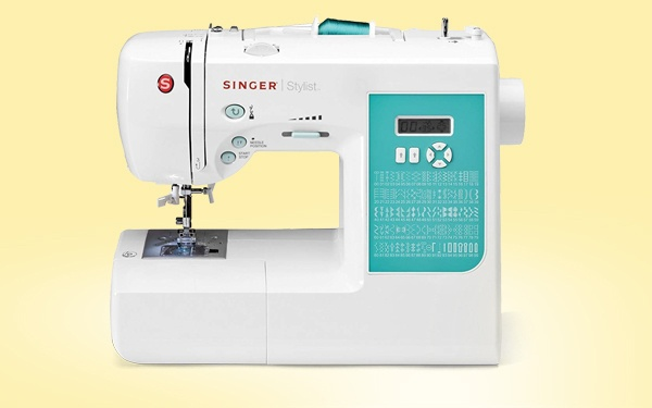 clothes making sewing machine