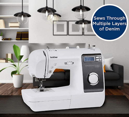 Best sewing machine for denim from Brother