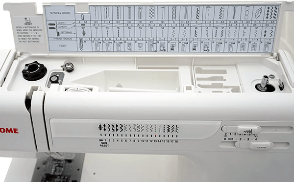 Inside the Janome HD3000
