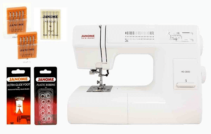 Janome HD3000 review - the look