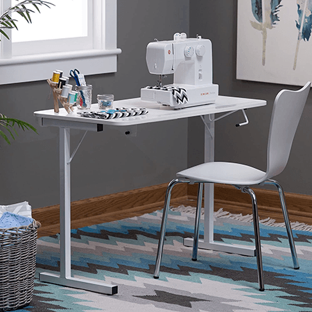 Folding sewing table the Arrow 601